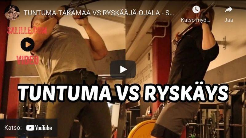 Ojala & Takamaa: tuntuma VS ryskäys