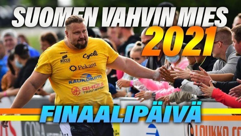 suomen vahvin mies 2021